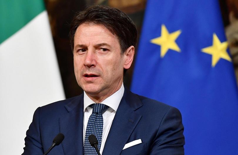 Италианският премиер Джузепе Конте заяви днес, че ще настоява за