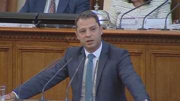 Парламентът не прие оставката на депутата от ГЕРБ Делян Добрев