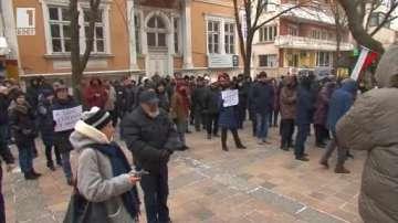 Протест срещу готвеното увеличение на водата в Добрич