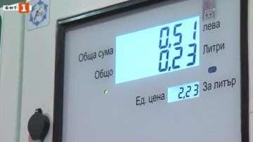 Протестиращи в Добрич зареждаха гориво за жълти стотинки