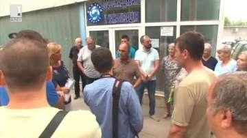 Жители на Добрич излязоха на протест заради режим на водата