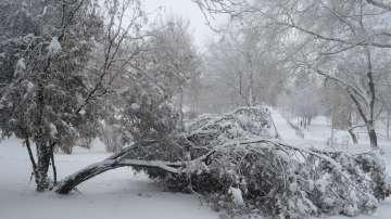 Нови снеговалежи и силен вятър в Източна България