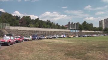 Френски доброволци дариха материали и пособия на детски градини в община Карлово