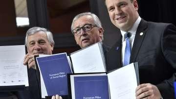 Европейският стълб на социалните права се гради на 20 принципа