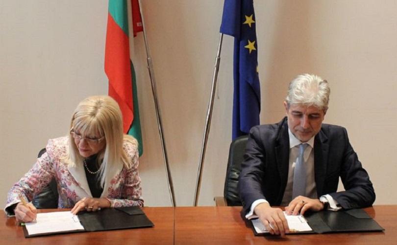 Две министерства подписаха договор за превенция на рискови свлачища
