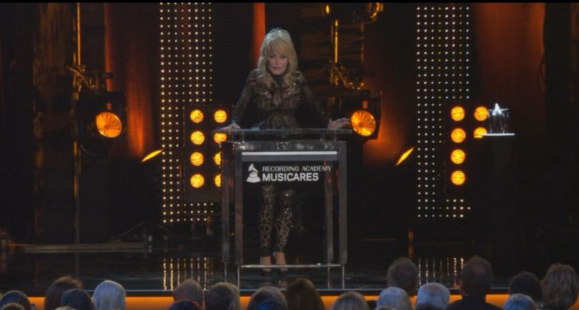 Снимка: Доли Партън беше избрана за личност на годината от фондация МюзиКеърс
