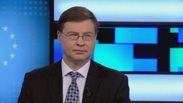 Кога България ще влезе в еврозоната – Валдис Домбровскис специално за БНТ