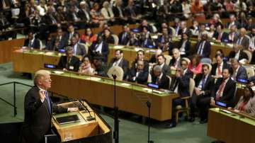 Първа реч на Доналд Тръмп пред Общото събрание на ООН