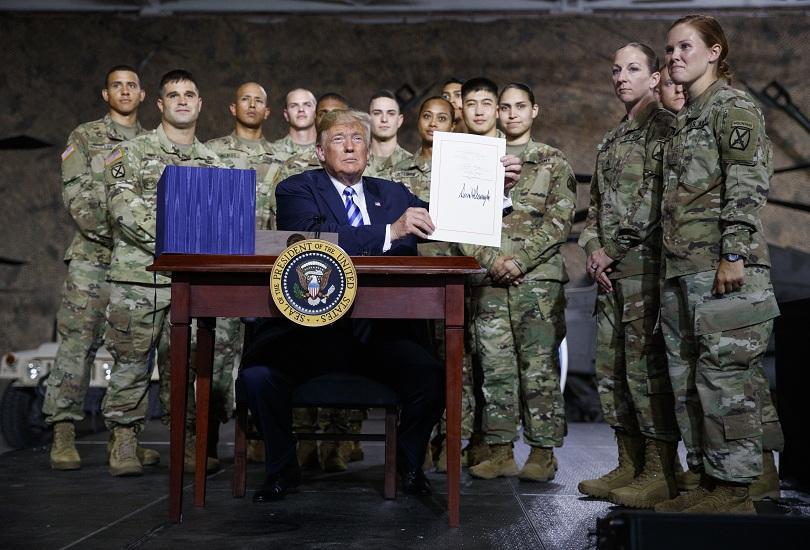 Бюджетът на Съединените щати за отбрана за следващата година постави