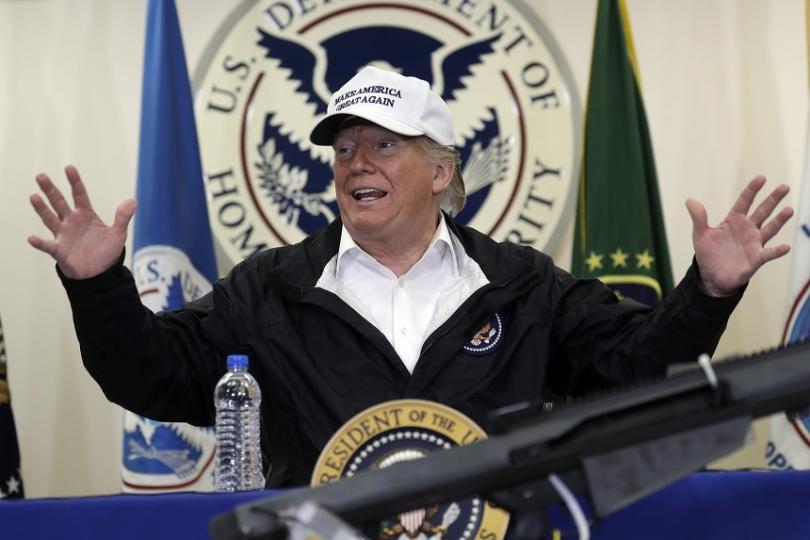 Американският президент Доналд Тръмп обяви днес, че няма да участва