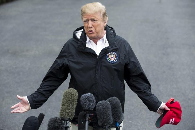 президентът тръмп поиска млрд долара стената мексико