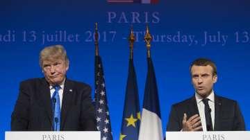 Британската преса: Макрон се опитва да спечели благоразположението на Тръмп