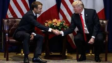 Тръмп и Макрон обсъдиха въпроси, свързани с международната сигурност