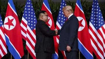 Историческа среща между Доналд Тръмп и Ким Чен-ун