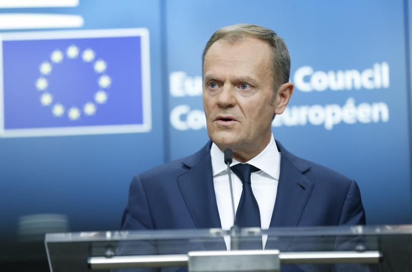 Председателят на съвета на Евросъюза Доналд Туск настоя Турция да