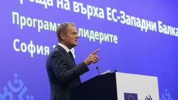 Туск: Европа се нуждае от обединен политически, икономически и военен фронт