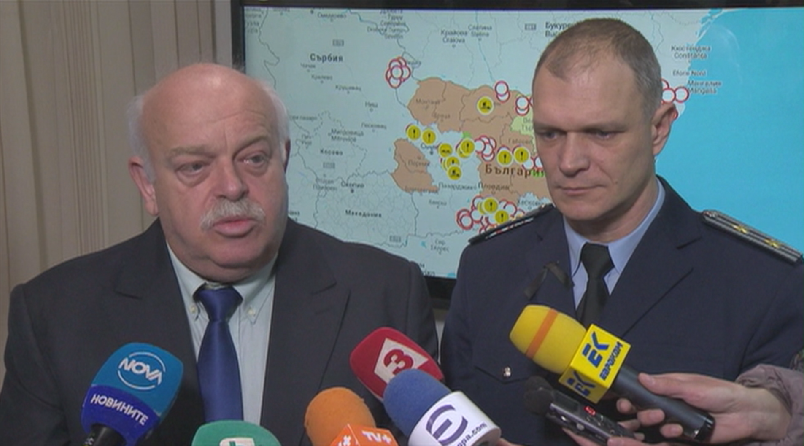 Най-критичните зони в момента са в Добрич, Силистра и Русе.