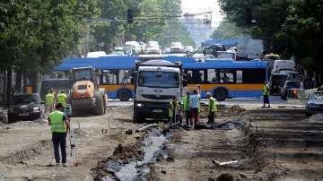 Затварят за ремонт поредна отсечка от столичния булевард Дондуков