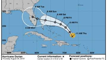 САЩ в очакване на бурята Дориан