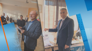 Мустафа Карадайъ и Ахмед Доган упражниха правото си на глас