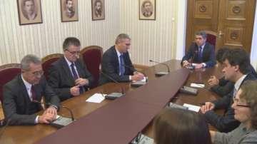 ДПС на консултации при президента Росен Плевнелиев