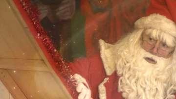 На среща с Дядо Мраз