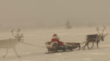 Отброяване на часовете до пристигането на Дядо Коледа