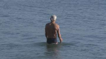 79-годишен варненец моржува в леденото море всеки ден