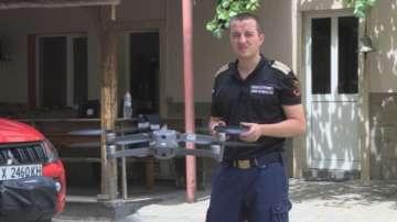 Използват дронове в борбата с горски пожари в Хасковско