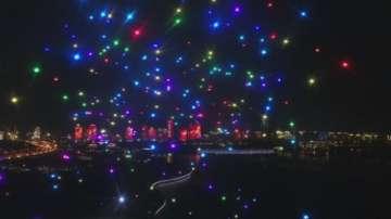 Светлинно дрон шоу - все по-популярна атракция в Китай
