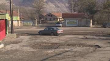 Протест в разградското село Дряновец заради асфалтиране на улица