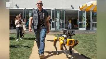 ДРУГИТЕ новини: Разходка с куче робот