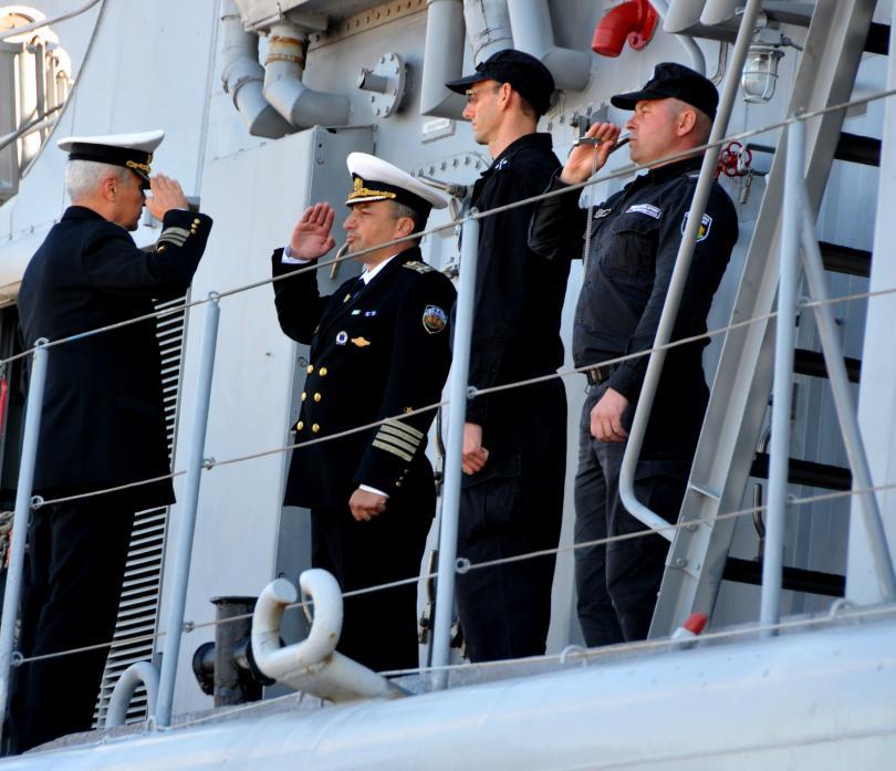 снимка 1 Фрегатата Дръзки ще се включи в операция на НАТО в Средиземно море