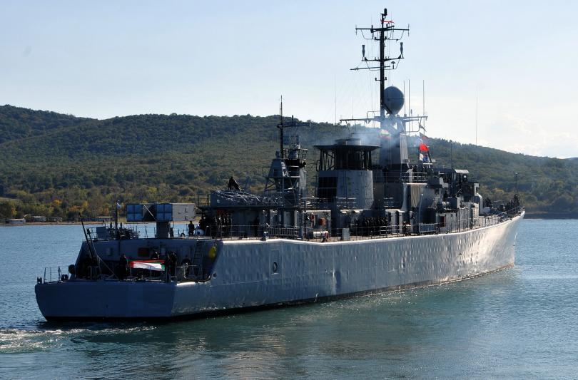 Фрегатата Дръзки ще се включи в операция на НАТО в Средиземно море