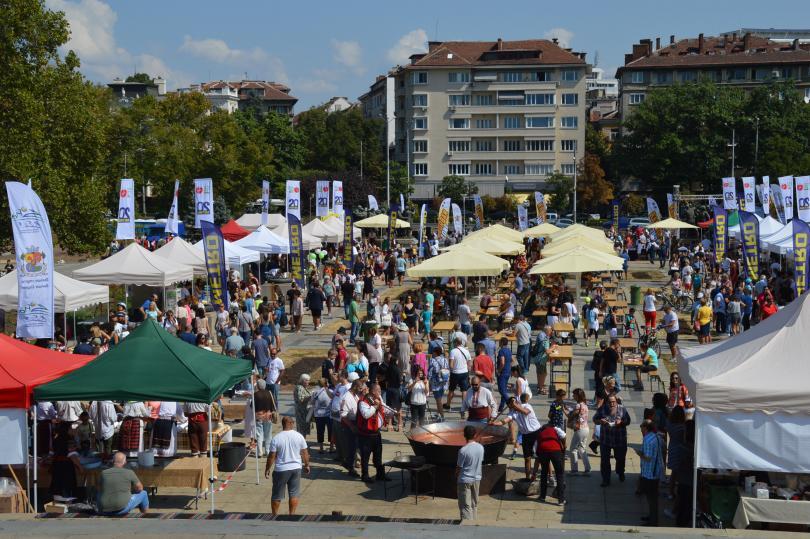 снимка 1 София ърбан зона спорт стартира с фолклорен фестивал