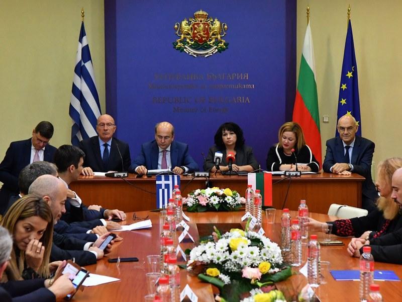 снимка 1 Подписахме споразумения за финансирането на газовата връзка България - Гърция