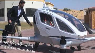 Дубай с проект за превоз на хора с дрон