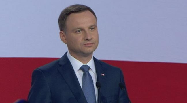 полският президент посещение нас