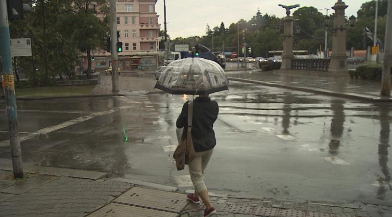 лошо време оранжев код дъжд области страната обявен