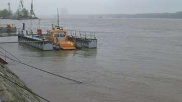 Нивото на Дунав при Русе се повишава