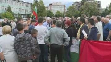 Жителите на Дупница излязоха на протест заради лошата инфраструктура в...