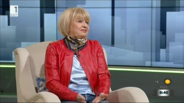 Именитата българска актриса Анета Сотирова - откровена в мислите и