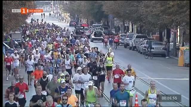 София днес тича. Софийският маратон започна точно в 9 часа
