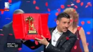 Франческо Габани е победител на фестивала Сан Ремо