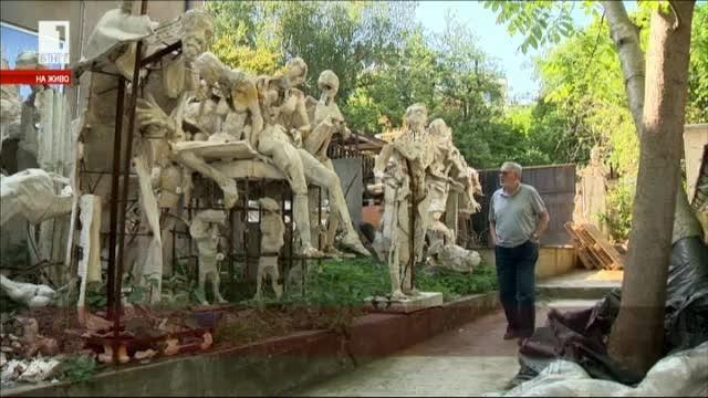 Срещаме ви със скулптора Крум Дамянов. Почти няма жанр, в