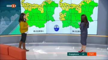 Евгения Егова: Мъглите ще се вдигнат за кратко в сряда