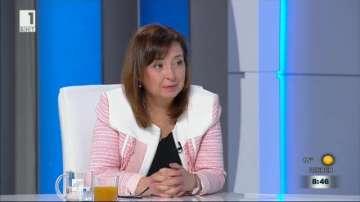 Зорница Русинова: Има много добър темп на спад на безработицата