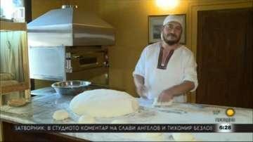 Пловдивски ученици приготвят хляб заедно с известен майстор пекар
