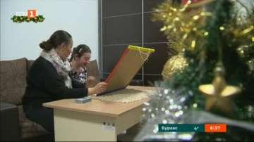 Българската Коледа помага на Ивон от 7 години