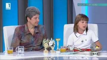 10-годишната Сара ще участва в олимпиадата по математика в Тайланд